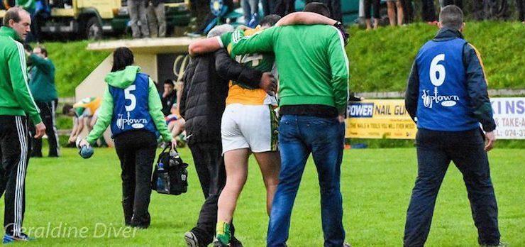 Michael Murphy has scan on knee injury in Letterkenny