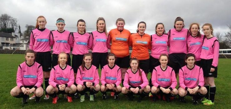 Mulroy College girls reach Senior 'B' Schools Cup final