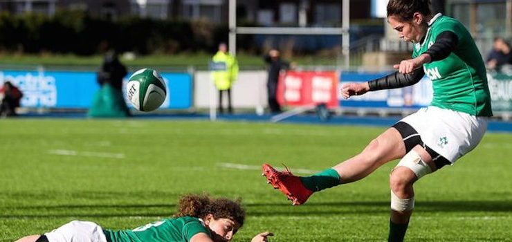 Nora Stapleton to the fore as Ireland overcome France in a thriller