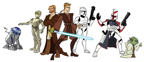 Famous star wars characters