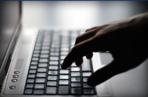 Typing on keypad