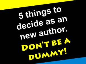 Authors for dummies