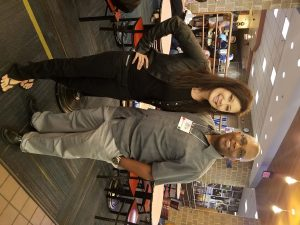 I met NY Times best selling author Tosca Lee!