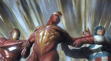 Civil_War_Iron Man_Captain America_Iron Spider