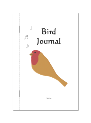 preview of free PDF bird book print out