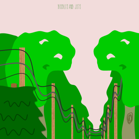 power lines illustration