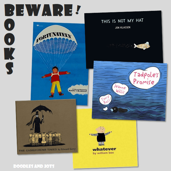 dark humor books for kids