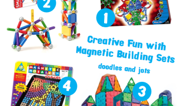 Magnetic Construction Sets