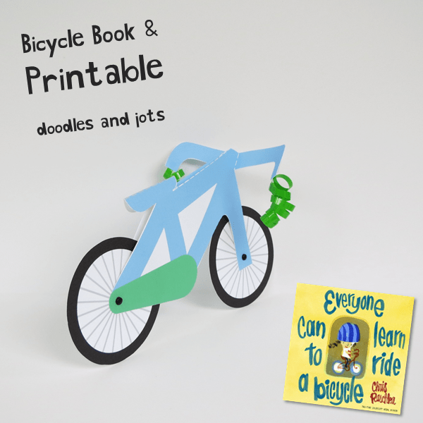 Bicycle Paper Craft