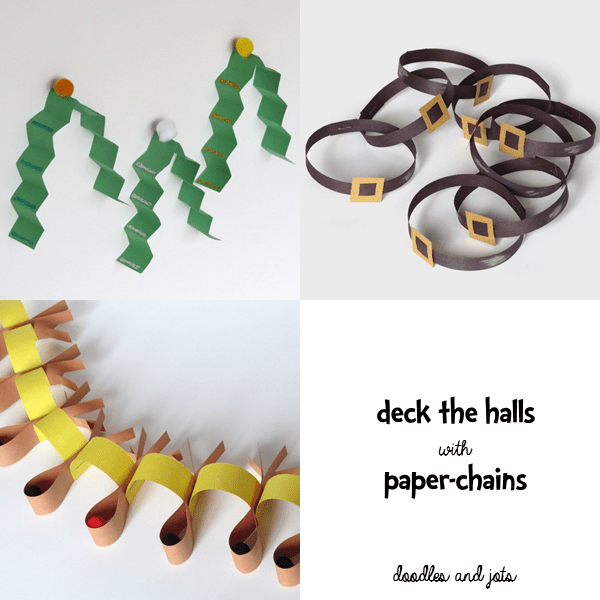 Deck the Halls with Paper Chains 2