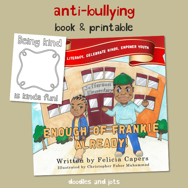 Anti Bullying Book & Printable