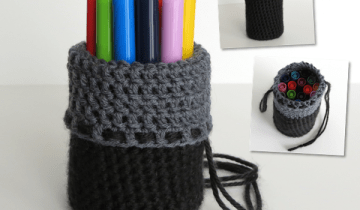 Marker Case Crochet Pattern