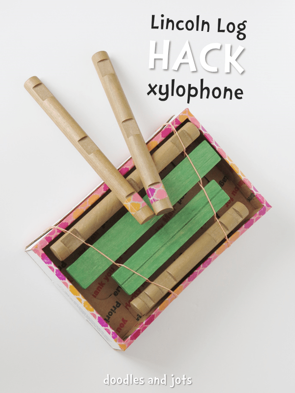Lincoln Log Hack Xylophone