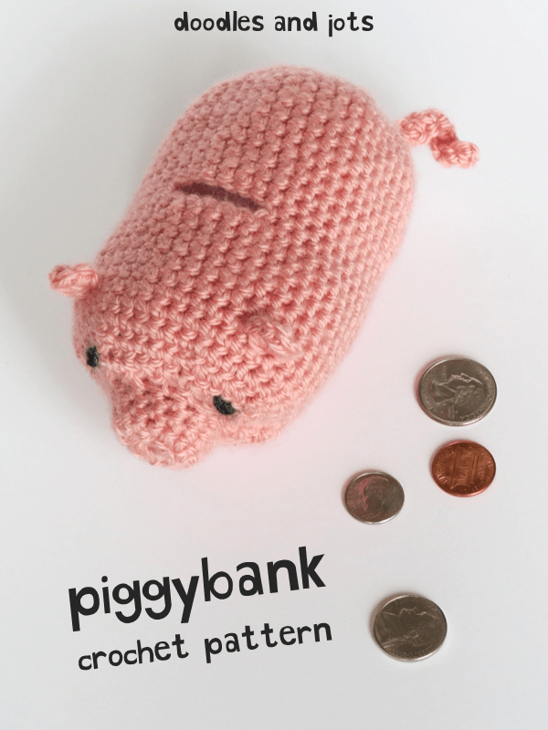 piggy bank crochet pattern
