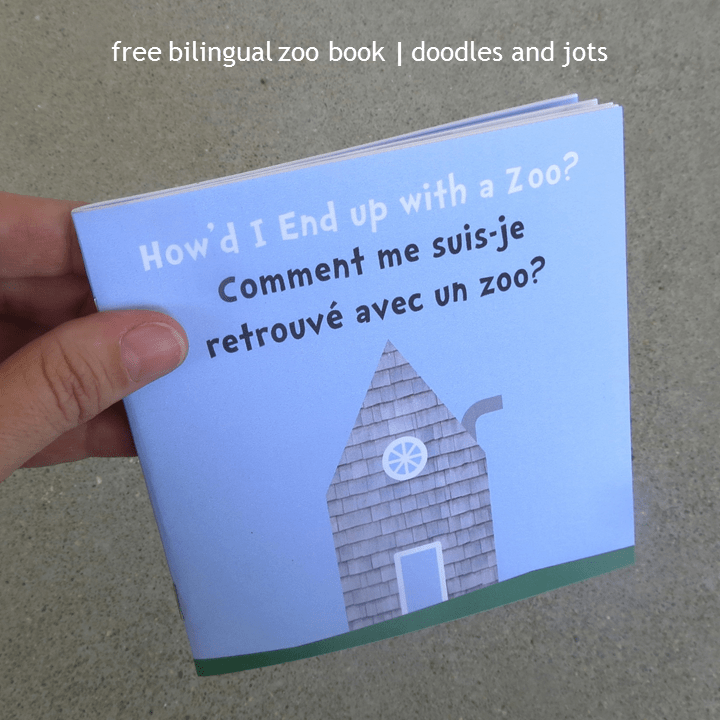 Bilingual Zoo Book