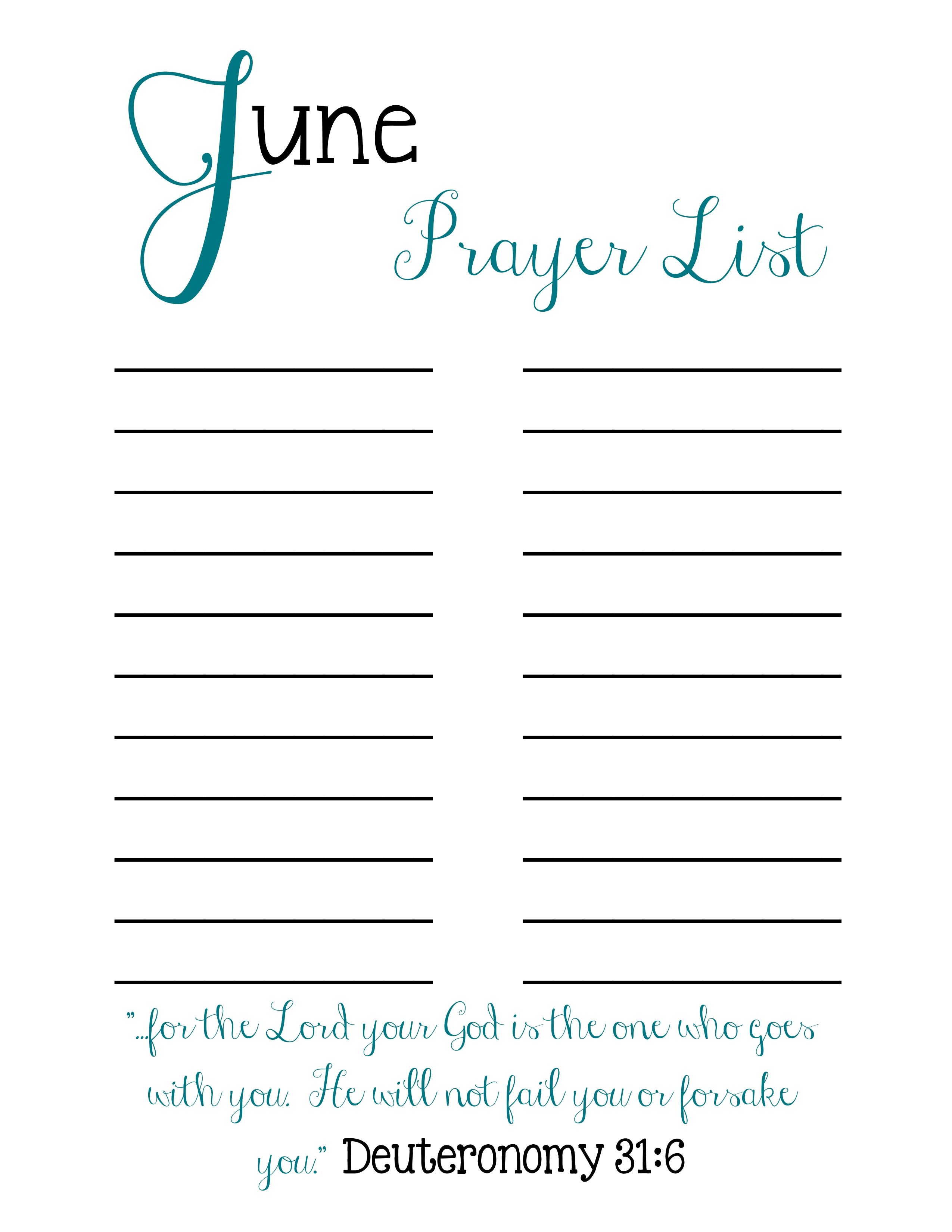 It is a graphic of Impertinent Printable Prayer List