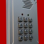 door phone keypad