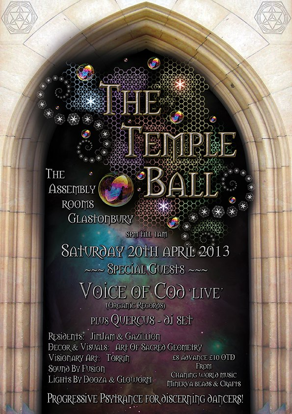 Glastonbury Temple Ball The Next Temple Ball