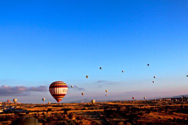 Passeio de Balão com a Sultan Balloons