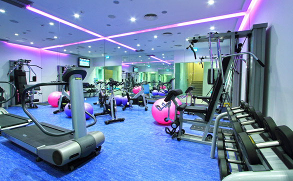 hotelluxesplit_gym