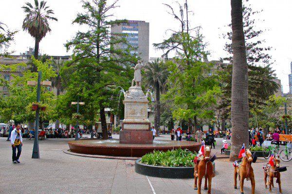 centro historico santiago