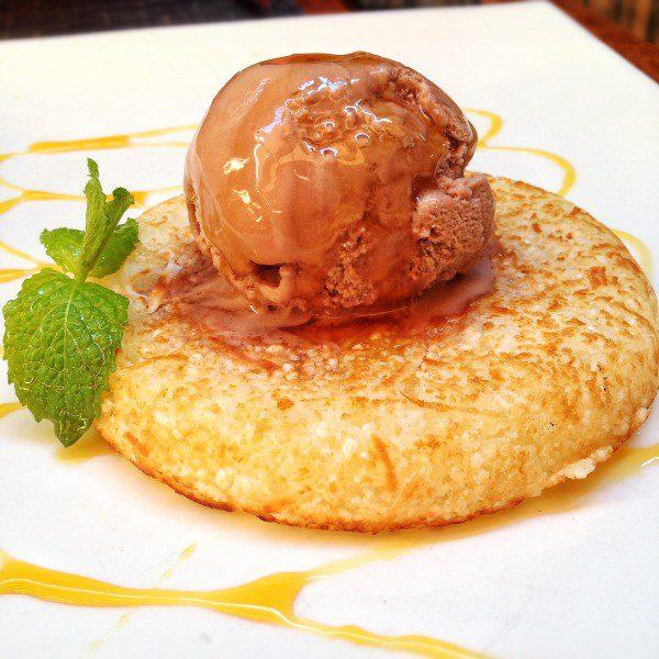 Gallete de tapioca com coco fresco