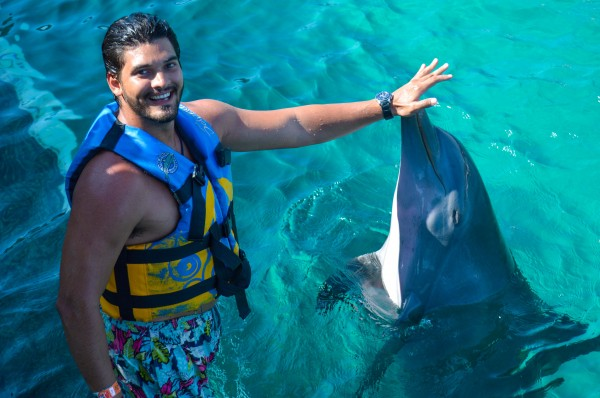 nadar com golfinho_-12