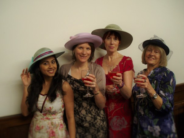 "Leading Characters of Dorchester Drama's ""Ladies Day"" by Amanda Whittington."