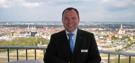 Hoteldirektor des Dorint An der Kongresshalle Augsburg Carsten Dressler