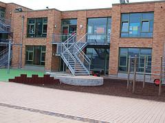 Innenhof der Friedensschule
