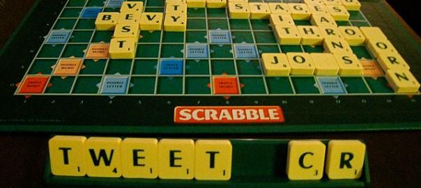 Twitter Scrabble