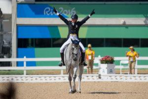 Pietro Roman (ITA) & Barraduff - Eventing - Dressage (Team & Individual) ñ Rio 2016 Olympic Games ñ Deodoro, Rio de Janeiro, Brazil ñ 07 August 2016