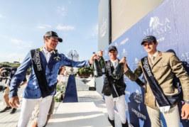 Athina Onassis Horse Show, Alberto Zorzi non si allontana dal podio