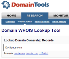 DomainTools - WHOIS