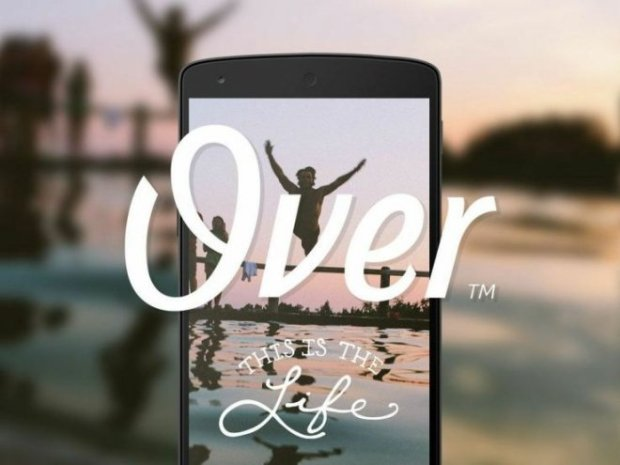 over photo editing app