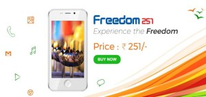 Book Freedom 251 Android Mobile Phone Online @ www.freedom251.com