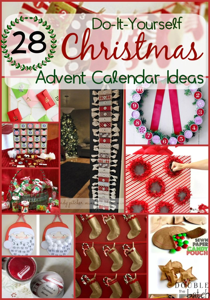 Xmas Advent Calendar Ideas : Diy christmas advent calendar ideas