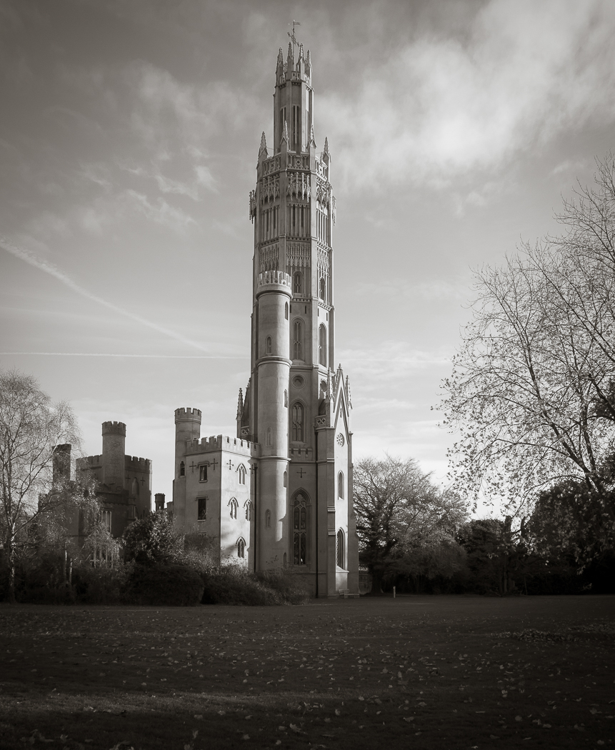 Hadlow Tower, Kent photographed for Swift Security Ltd.