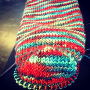 Christmas Socks | OMG Heel | Down Cellar Studio