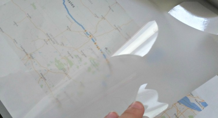 """DIY """"Are we There Yet"""" Kid's Travel Map"""
