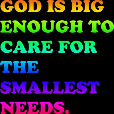 God Cares Wallpaper