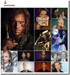 Stratford Festival Playbill 2016_Shakespeare in Love