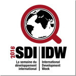 2016 International Development Week Conference at University of Ottawa