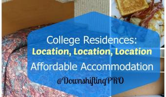Student Residences or Dorms are Affordable Hotel Accommodations during Summer Travels #TravellingMaple