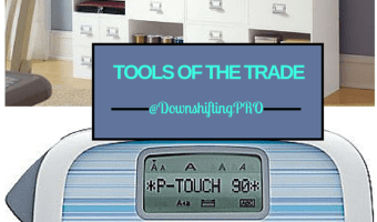 Organizing Tools of the Trade – My favourite things for Organizing