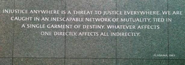 King Birmingham Jail quote