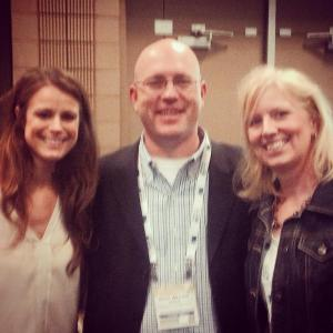 Your author with Katie Sheets & Cam Brasington