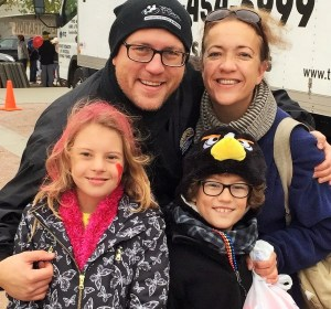 Your author's family at Down Syndrome of Louisville's 2015 Walk