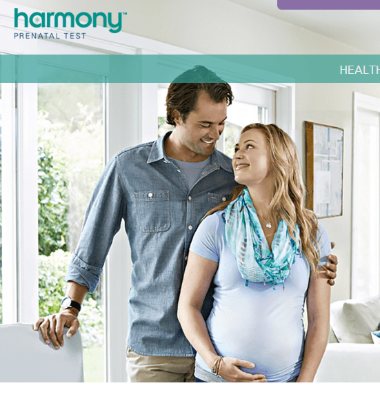 Harmony's Expecting Patient homepage