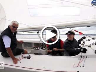 SCROLL DOWN FOR VIDEO >>> For more videos from the Etchells World Championship head to www.vrsport.tv